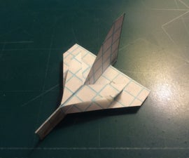 How To Make The Super DeltaRay Paper Airplane