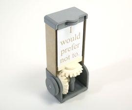 3D Printed Bevel Gears
