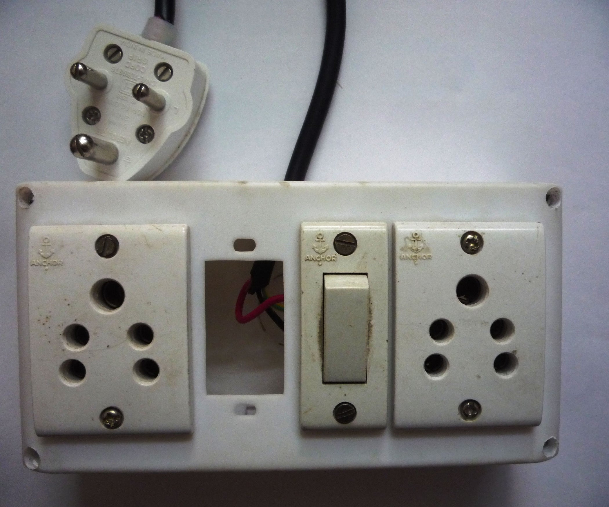 Make Your Own Extension Board 13 Steps With Pictures Blank Home Theater Wiring