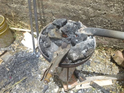 Blacksmithing in the Backyard