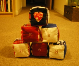 Babies fabric blocks