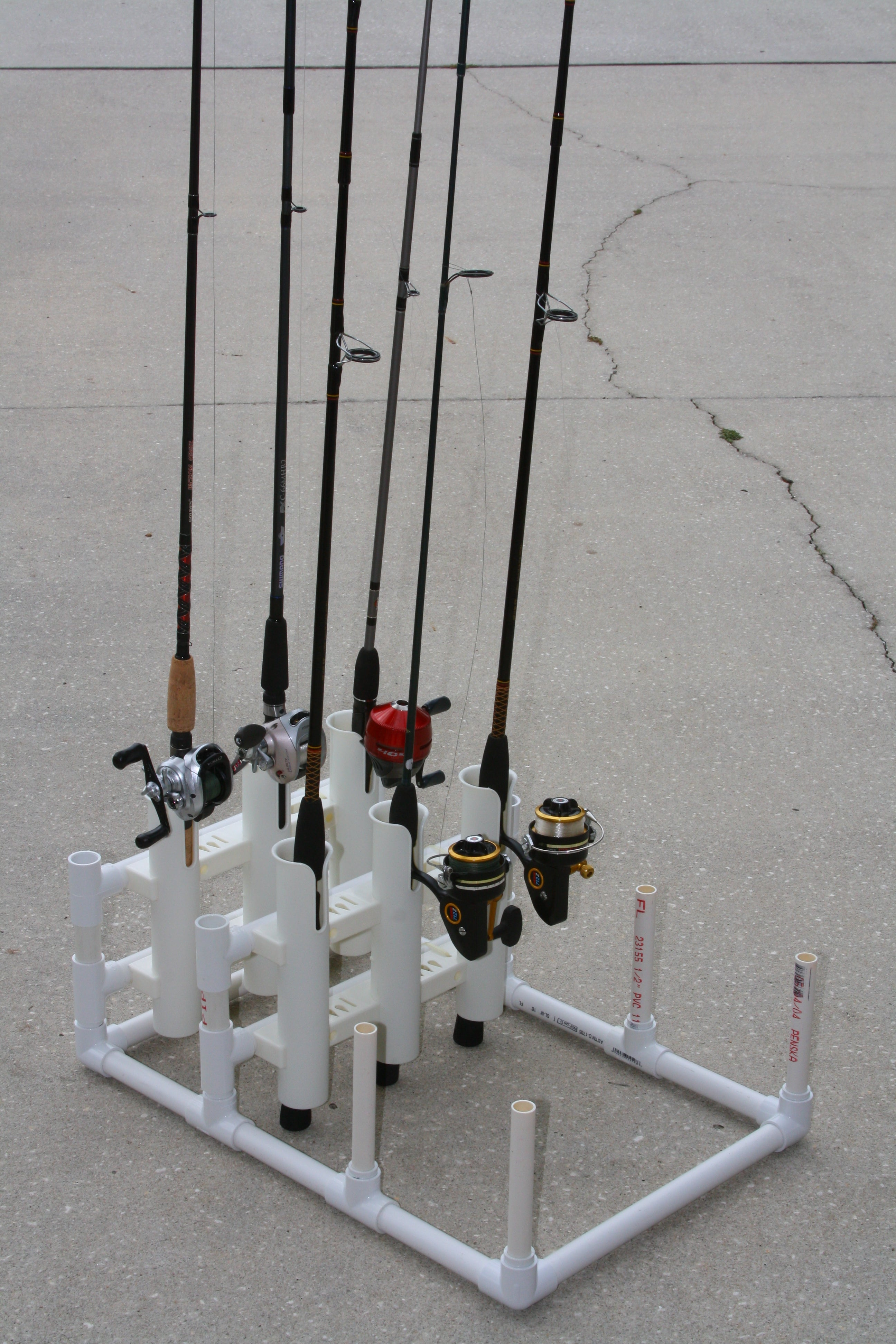 Pvc Modular Fishing Rod Holder 6 Steps With Pictures Instructables