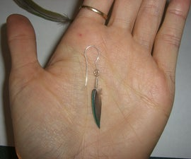 How to wire wrap a feather - method 1