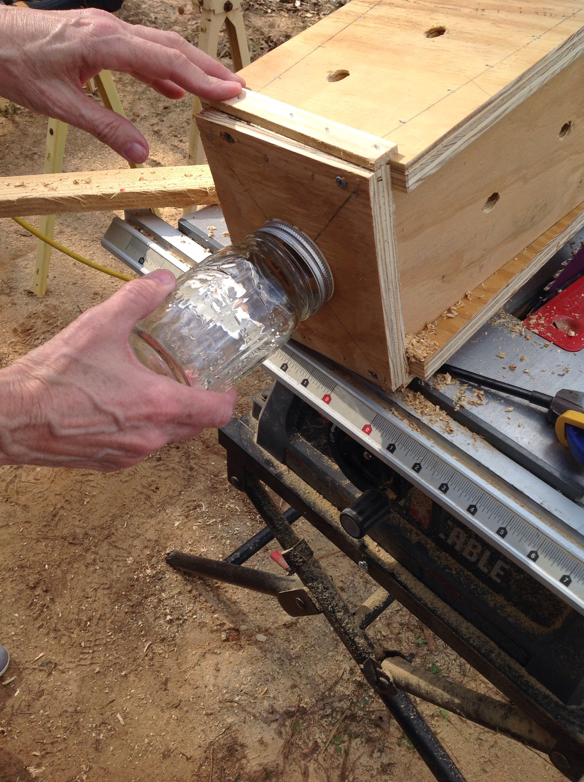 Picture of Attach the Jar and Hang the Box