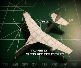 How to Make the Turbo StratoScout Paper Airplane