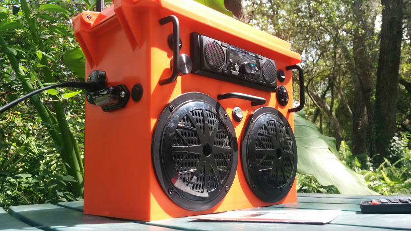 Picture of Solar Radio Boombox Stereo