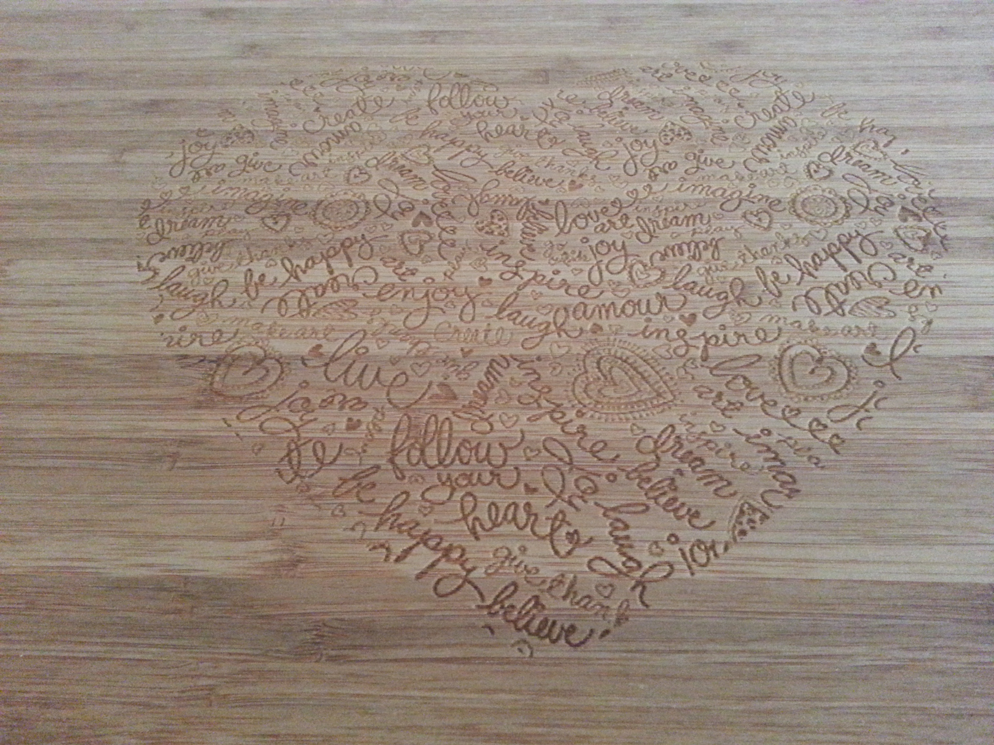 Picture of Engraved Cutting Board