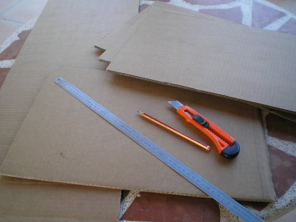 Picture of Marking and Cutting Cardboard