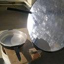 Solar Energy Parabolic cooker