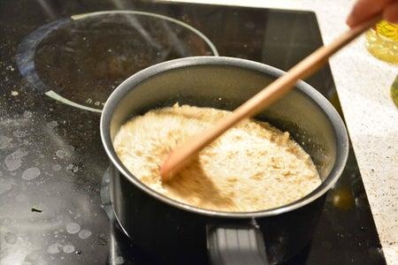 Add Salt and Stir Well in a Circular Motion.