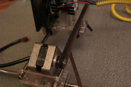 Mounting the Laser and Laser Driver