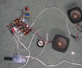 Super easy to make portable speakers for mp3/ipod
