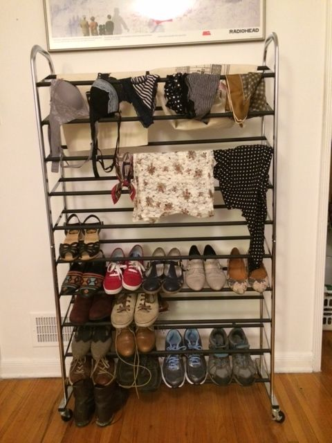 Picture of Step 2: Wash Your Clothing and Hang It on the Shoe Racks