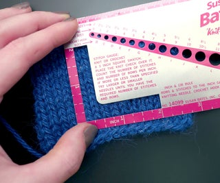 Pattern Abbreviations and Knitting Gauge
