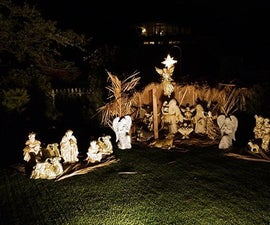 How to Create a Beautiful Outdoor Nativity Scene