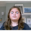 how to hold googly eyes or coins in your eyes