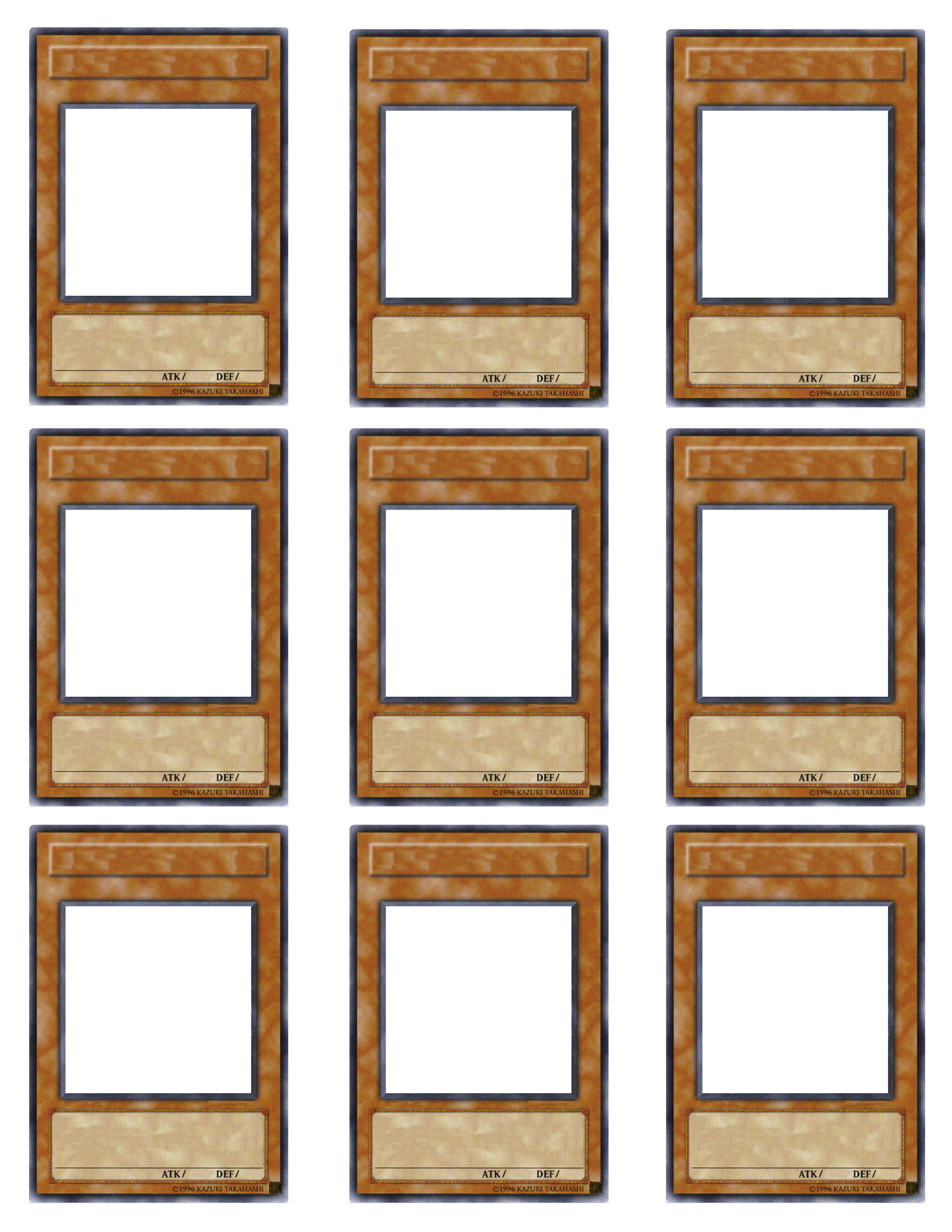 Picture of Blank Cards