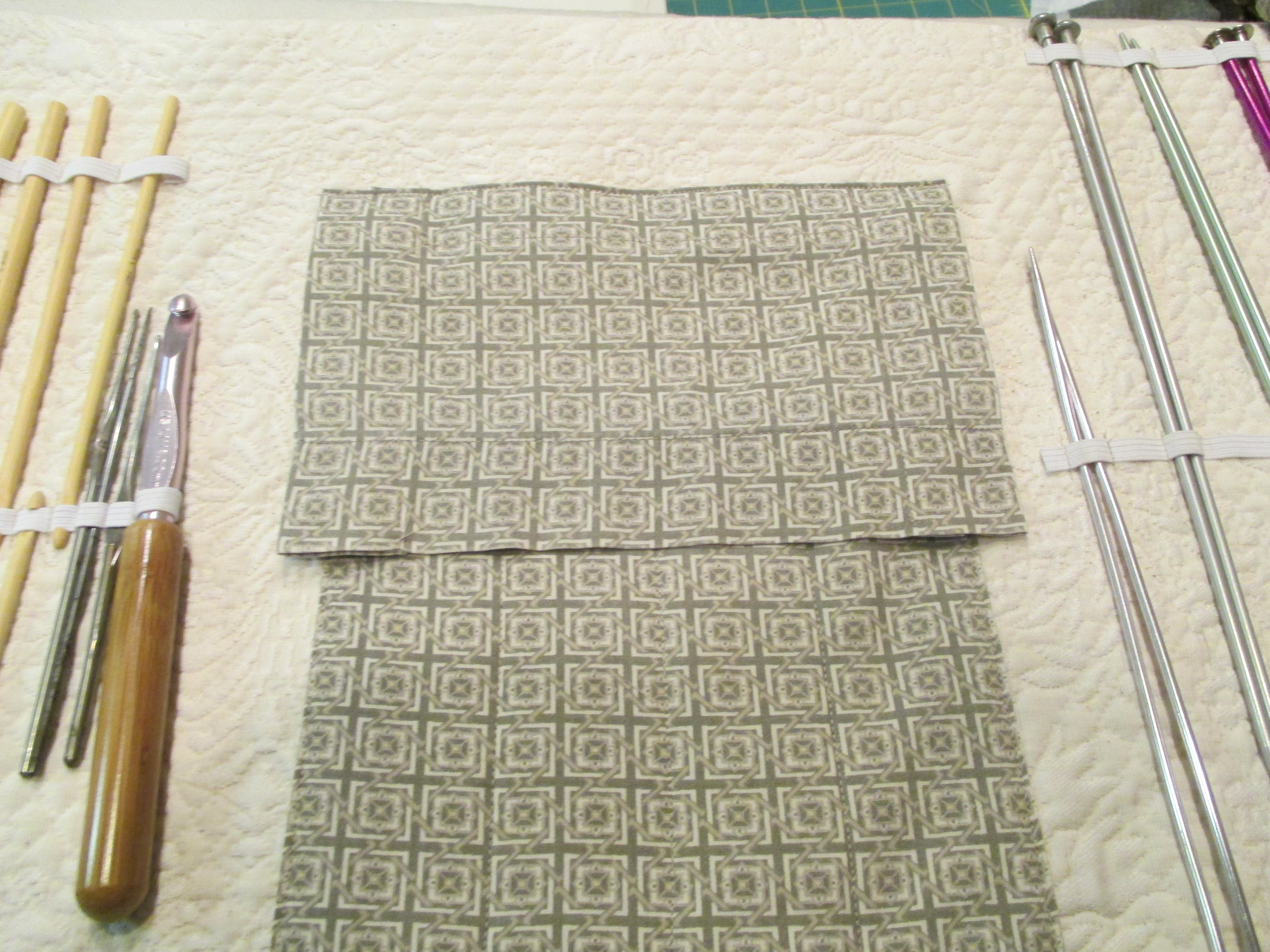 Picture of Flap Pockets for the Double-pointed Needles
