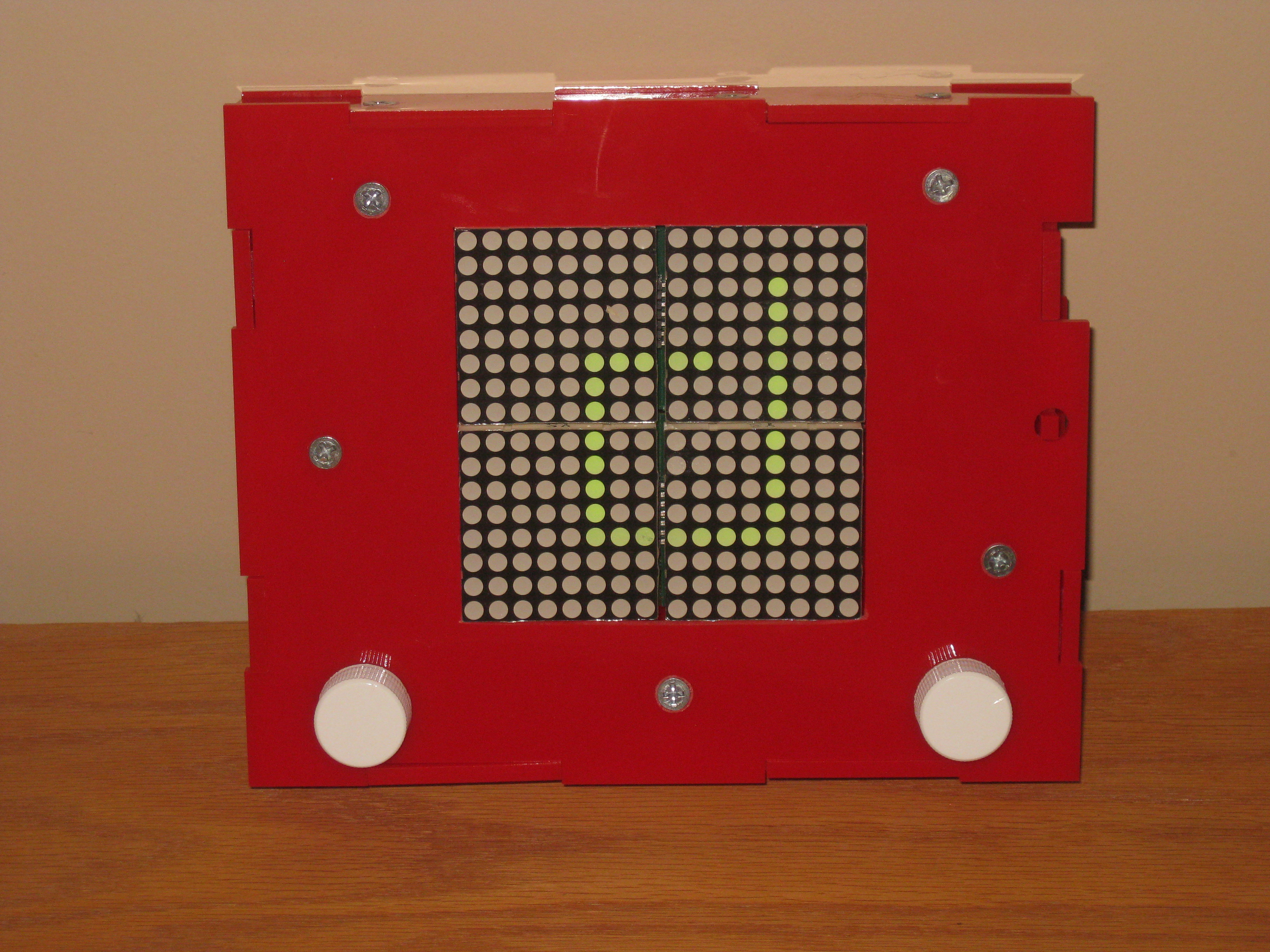 Picture of LED Etch-a-Sketch