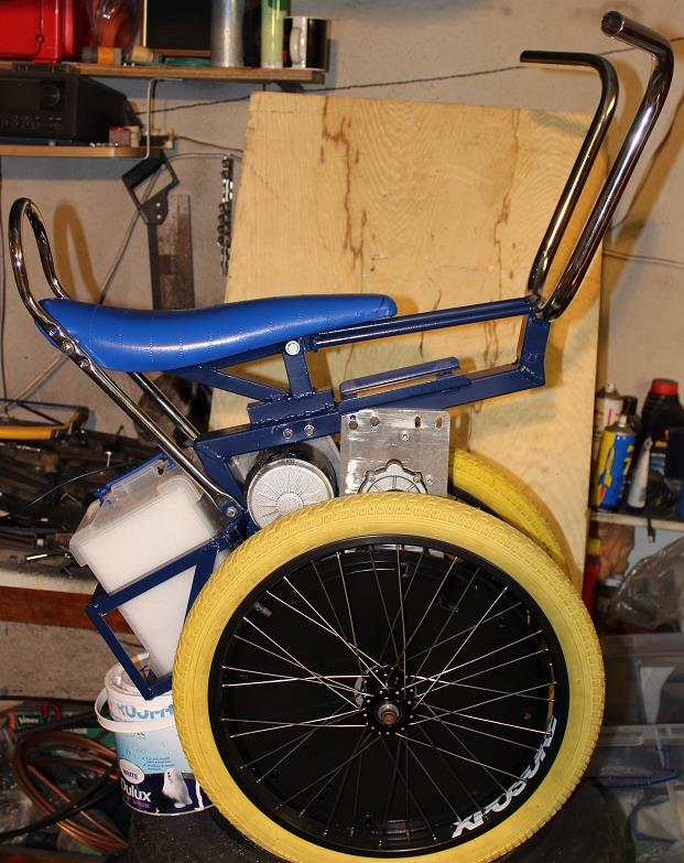 Picture of Seat Fitted.