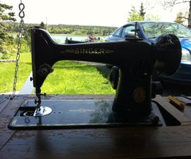 Fix and Restore Vintage Singer Sewing Machine