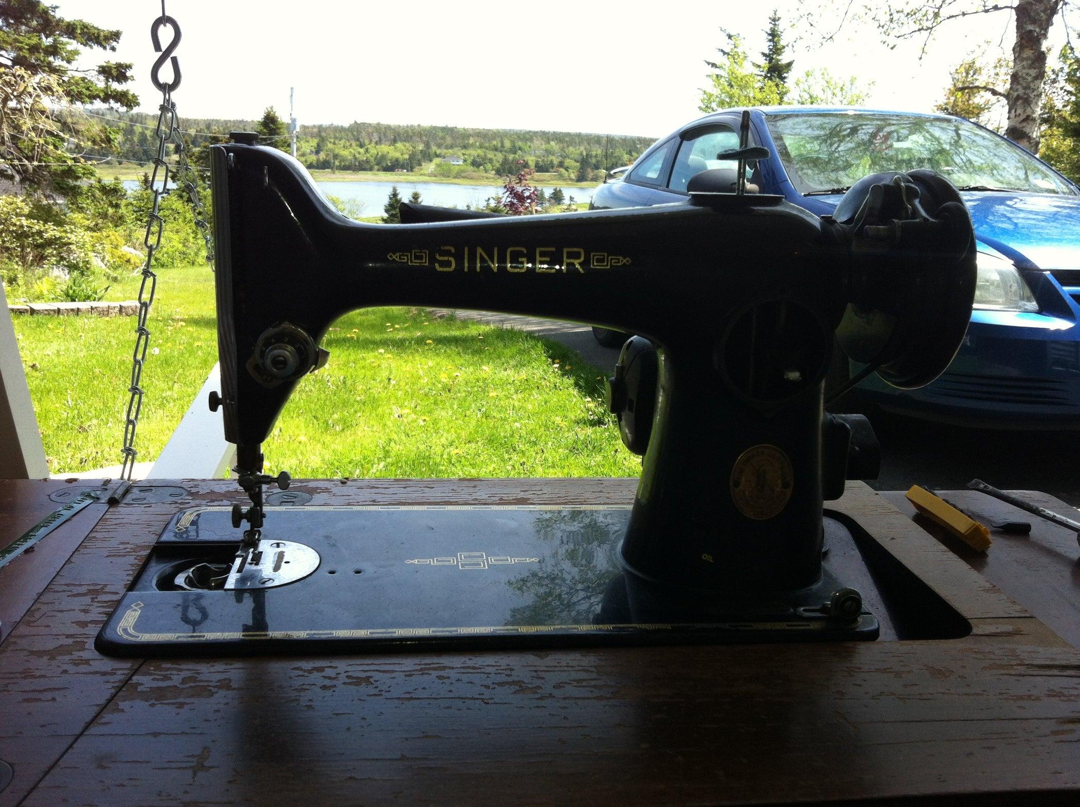 Fix And Restore Vintage Singer Sewing Machine 5 Steps 99 K Threading Diagram