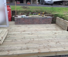 Decking on Top of Pallets