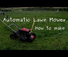 Automatic Lawn Mowing (Cutting Grass Into Circles)