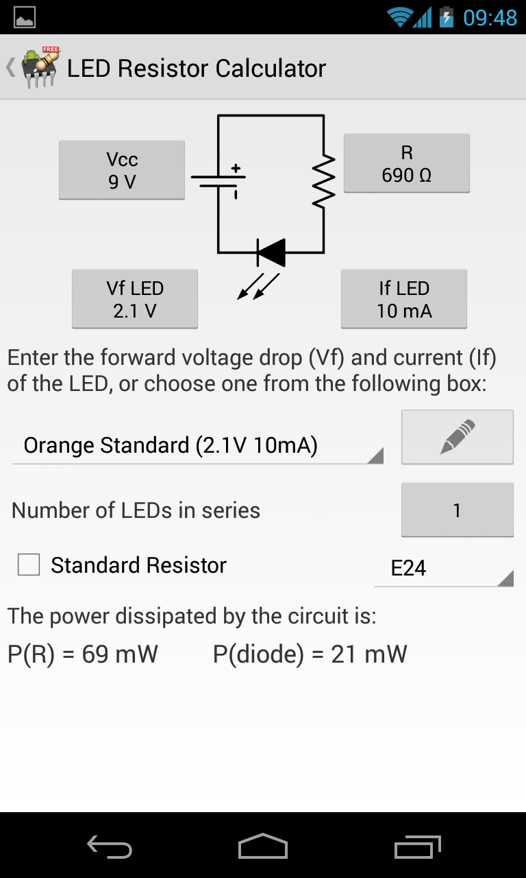 Picture of Lighting a LED