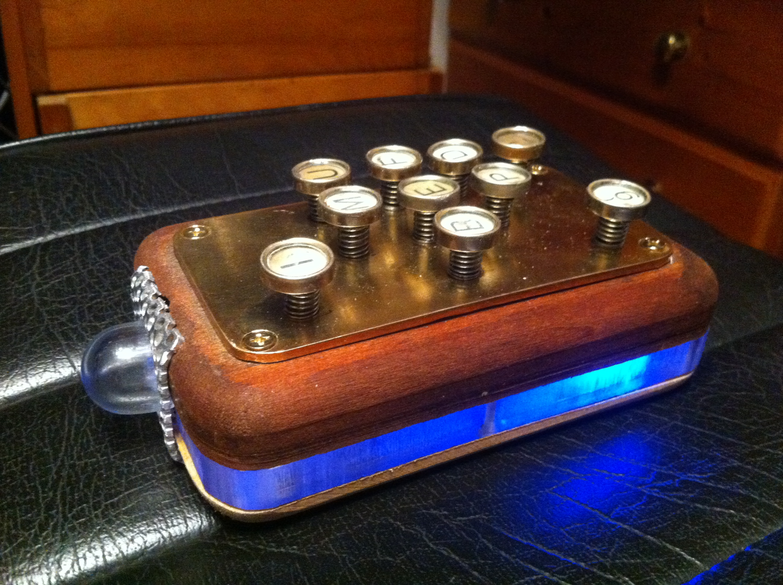 Picture of Steampunk Retro Remote Control (aka 'The Brick')