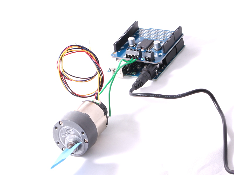 Picture of DC Motor Code (cont.)