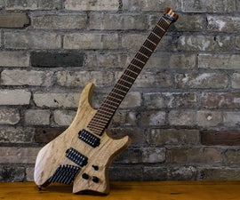 Design and Build a Custom Electric Guitar