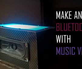 Bluetooth Speaker With Music Visualizer