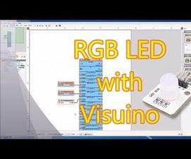 Arduino Nano and Visuino: Animate the Colors of RGB LED