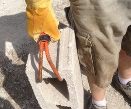 Concrete Block Handles