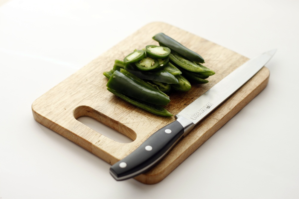 Picture of Chopping Jalapenos