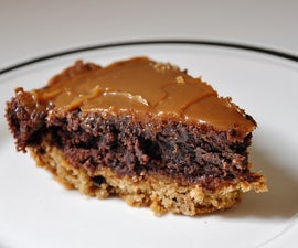 Cookie Brownie Pie