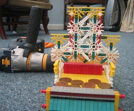 K'nex Arcade Coin Pusher instructable