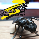 Recycled Metal Honey Bee