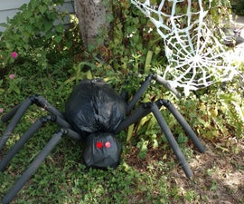 Giant Yard Spider- Cheap Decor