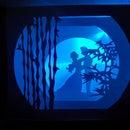 Illuminated Tunnel Book