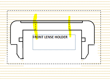 Picture of BENDING and ATTACHING the Reflex-dot.(THE LENSE HOLDER)