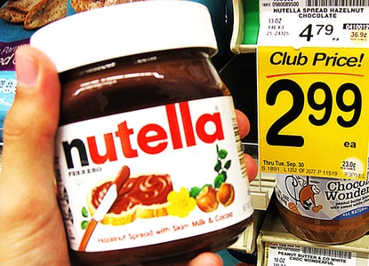 Grab Some Chocolate-Hazelnut Spread!