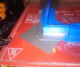 How to save a warping 3D print (mid print!)