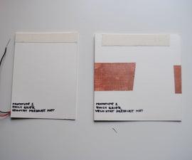 Velostat Homemade Pressure Sensor Mat