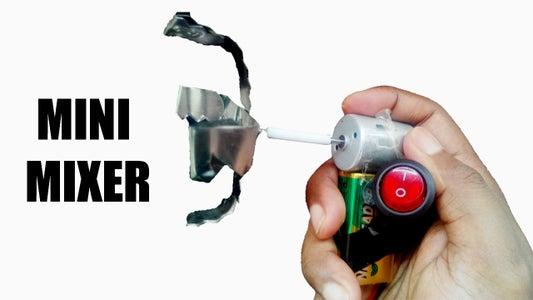 HOW TO MAKE MINI MIXER | ELECTRIC MIXER | EASY WAY