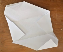 DIY - Fold a Letter Envelopes From an 8 ½  X 11 Sheet of Paper