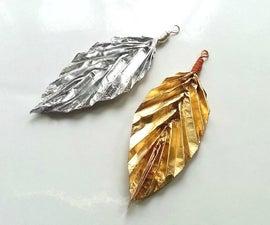 DIY Gold, Silver & Copper Pendants