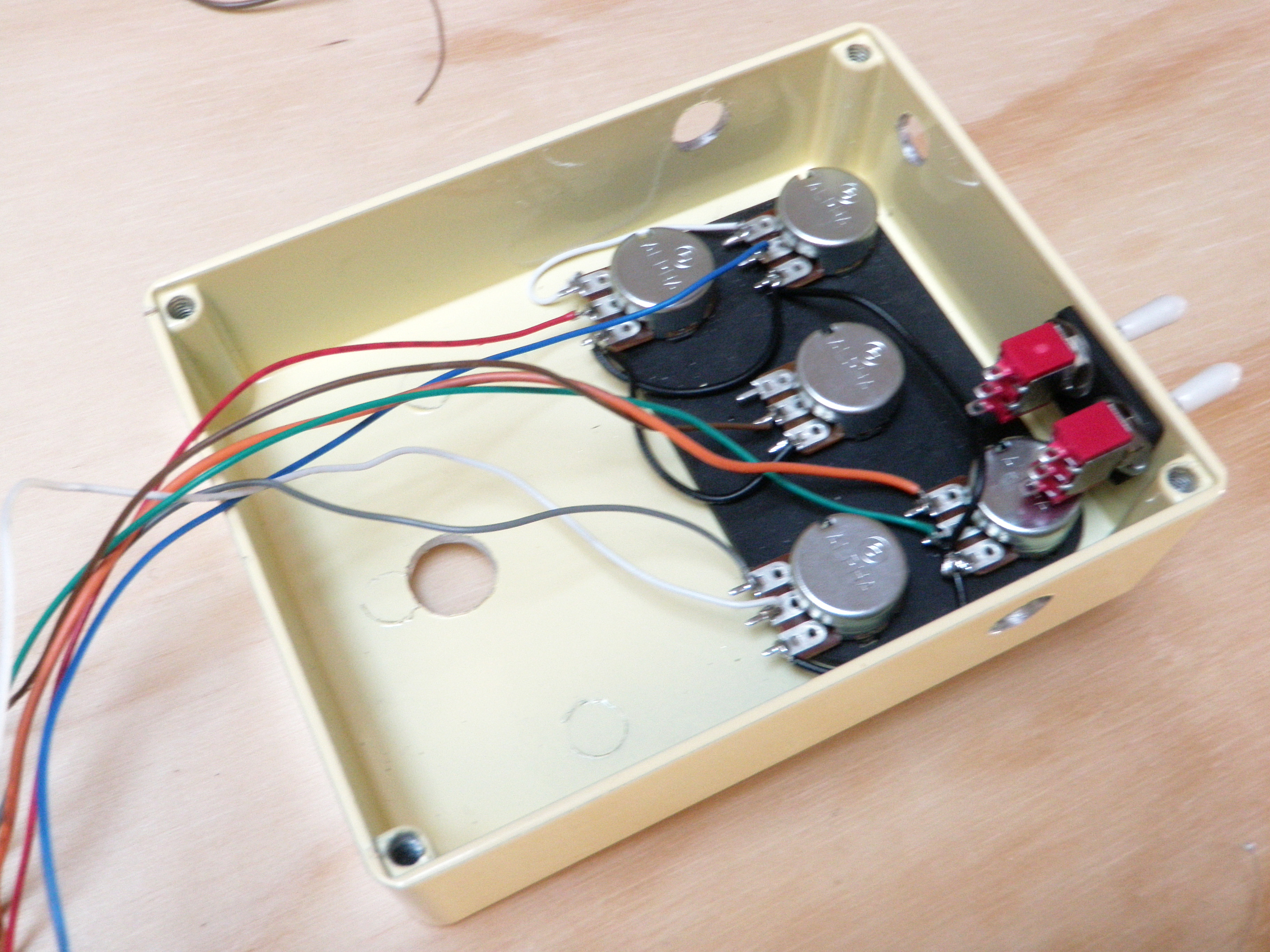 Picture of Wire the Front Panel