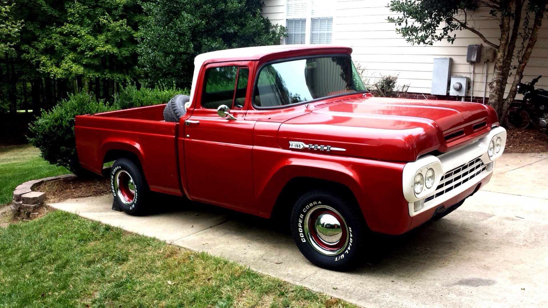 1960 Ford F 100 Truck Restoration 7 Steps With Pictures 1955 F100 Pickup Kits